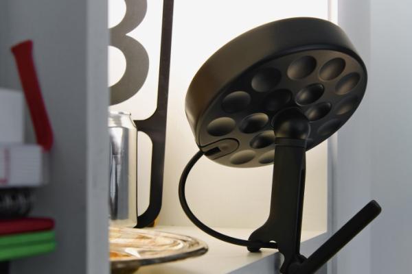 Design by michel charlot  Belux U-Turn LED inovative lighting